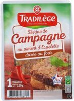 Terrine de Campagne au piment d'Espelette - Produit - fr