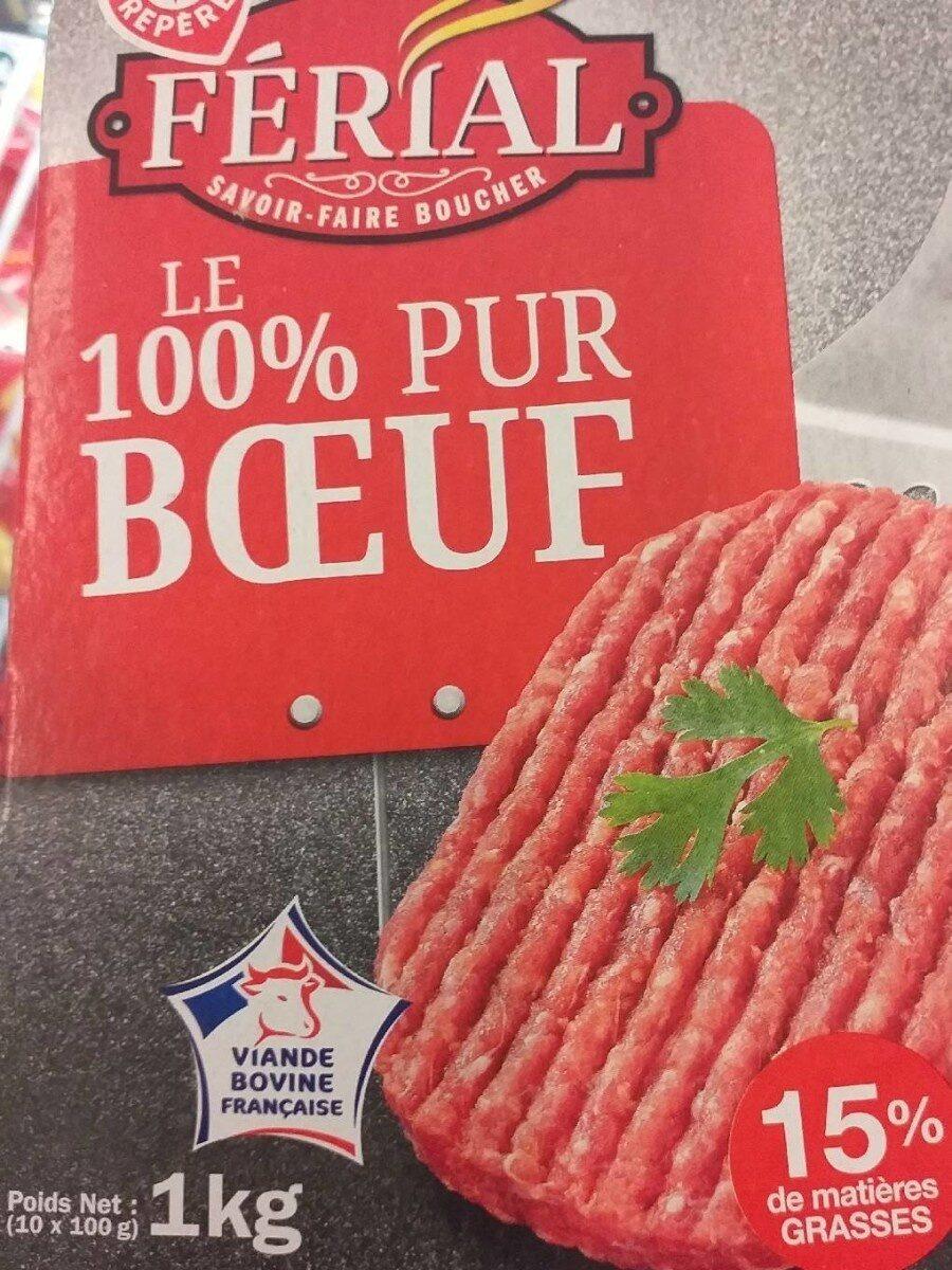 Steaks hachés 15% Mat. Gr. - Product - fr