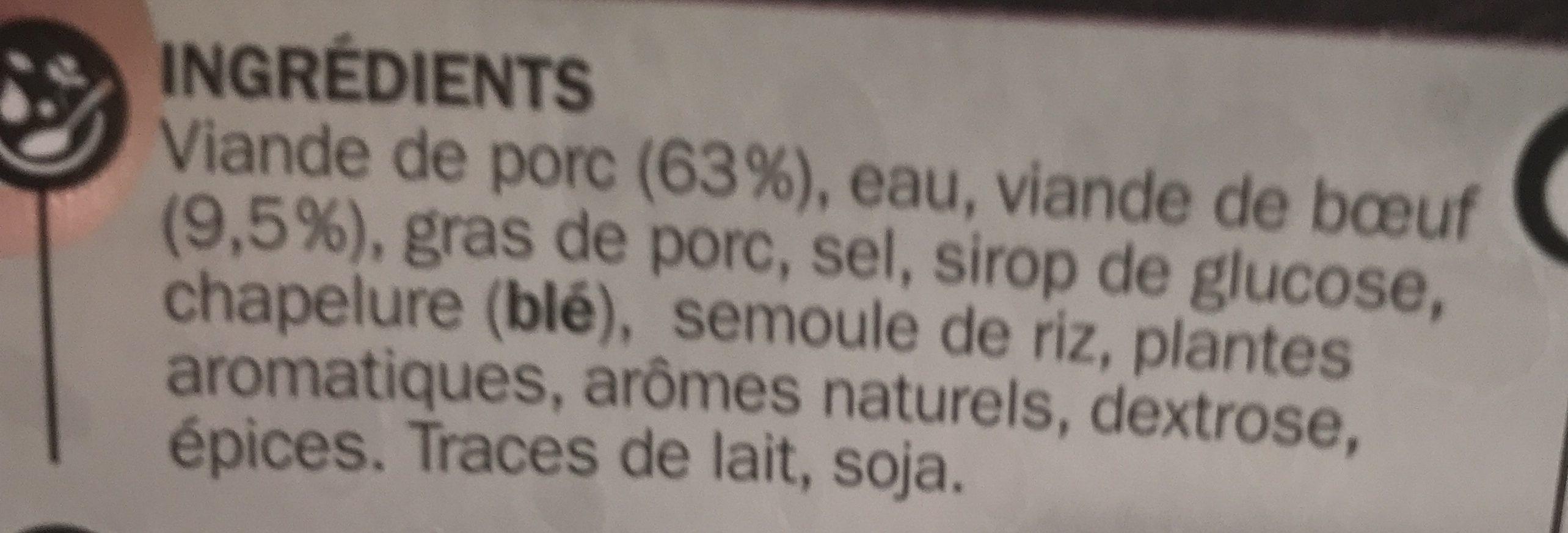Farce à légumes - Ingrédients - fr