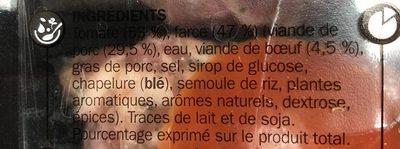 Tomates farcies x 6 - Ingrediënten