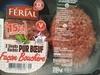 2 steaks hachés pur bœuf façon bouchère (15% MG) - Produit