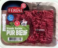 Viande Hachée Pur Bœuf 5% MG - Produit - fr