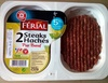 Steaks hachés Pur Boeuf 5% MG - Product