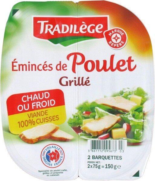 Emincés de poulet grillé - Product