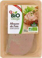 Mousse de foie de porc bio - Product