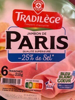Jambon de Paris - Product - fr