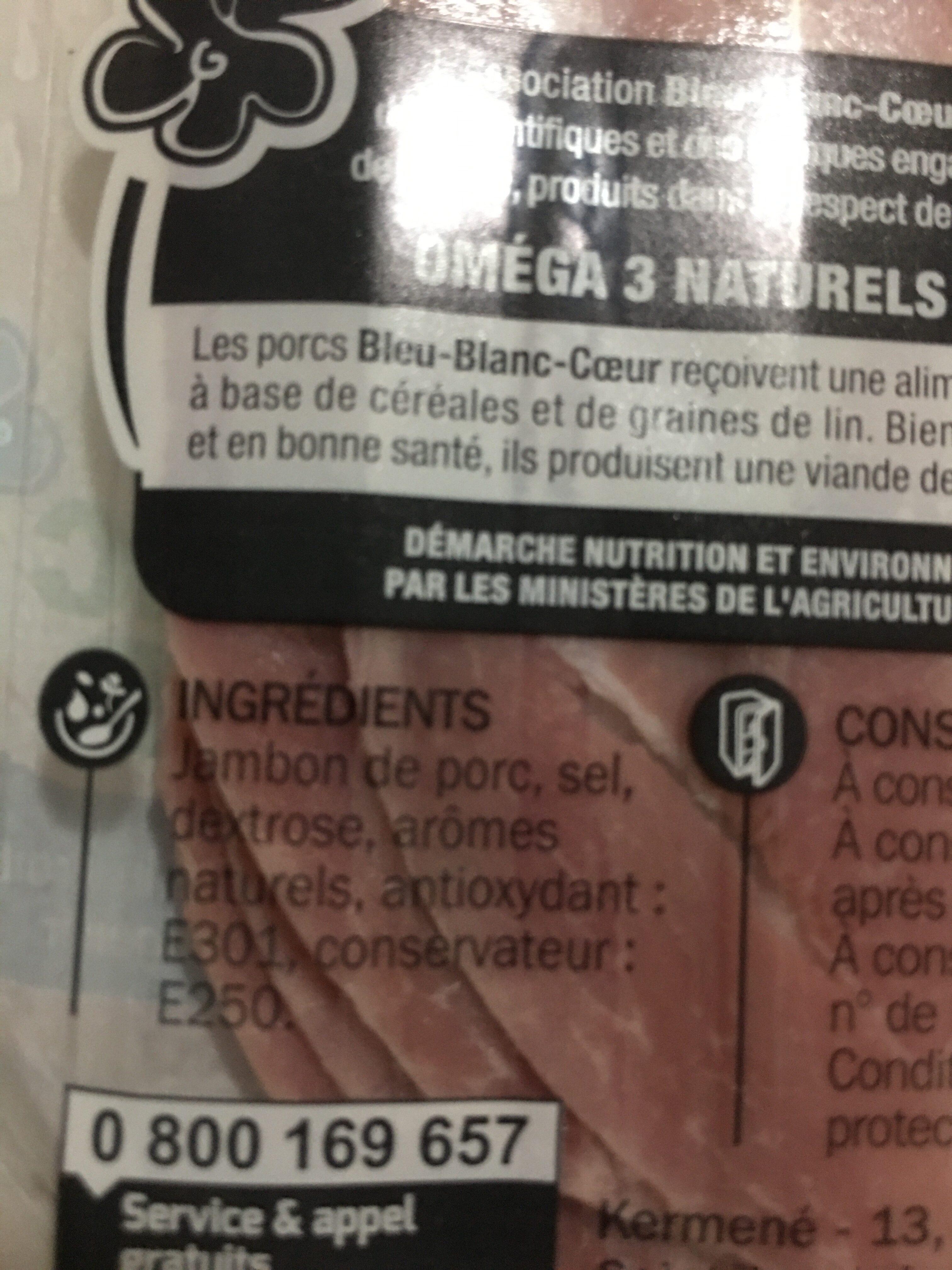 Jambon de Paris - Ingrediënten - fr