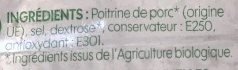Lardons fumés - Ingredienti - fr
