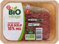 Viande hachée bio 15% Mat. Gr. - Product - fr
