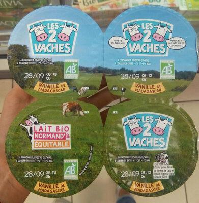 Les 2 vaches Vanille de Madagascar - Product - fr