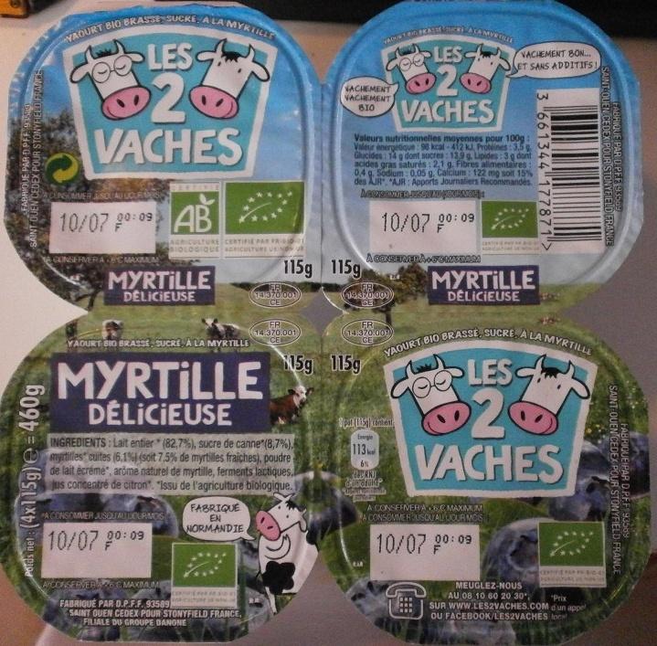Myrtille Délicieuse - Product - fr