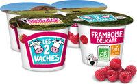 LES 2 VACHES BRASSE FRAMBOISE DELICATE 115 G X 4 - Prodotto - fr