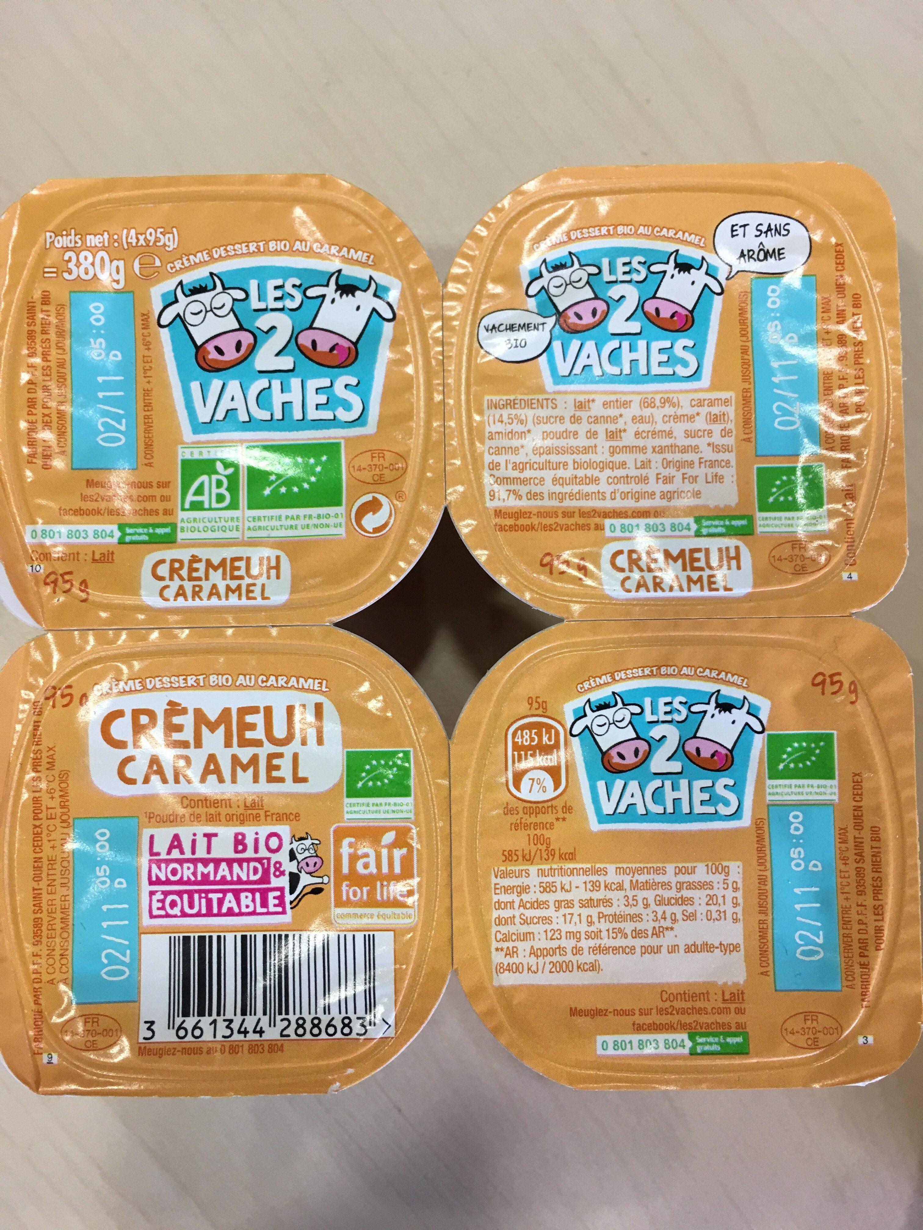 Crèmeuh CARAMEL - Produit - fr