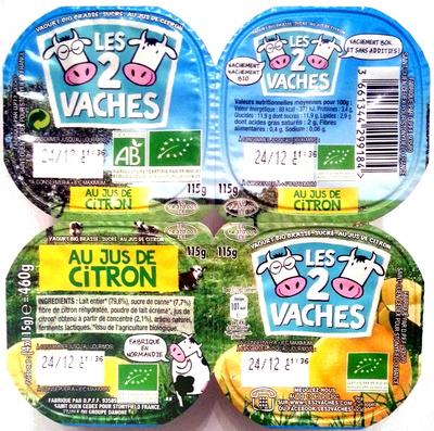 Yaourts au Jus de Citron - Product - fr