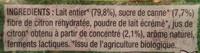 Yaourts au Jus de Citron - Ingrediënten - fr
