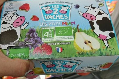 Les 2 vaches les p'tits miam - Produit