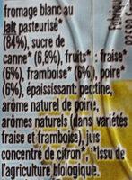 Les petits miams - Ingredients - fr