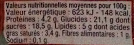 Crèmeuh Chocolat - Voedingswaarden - fr