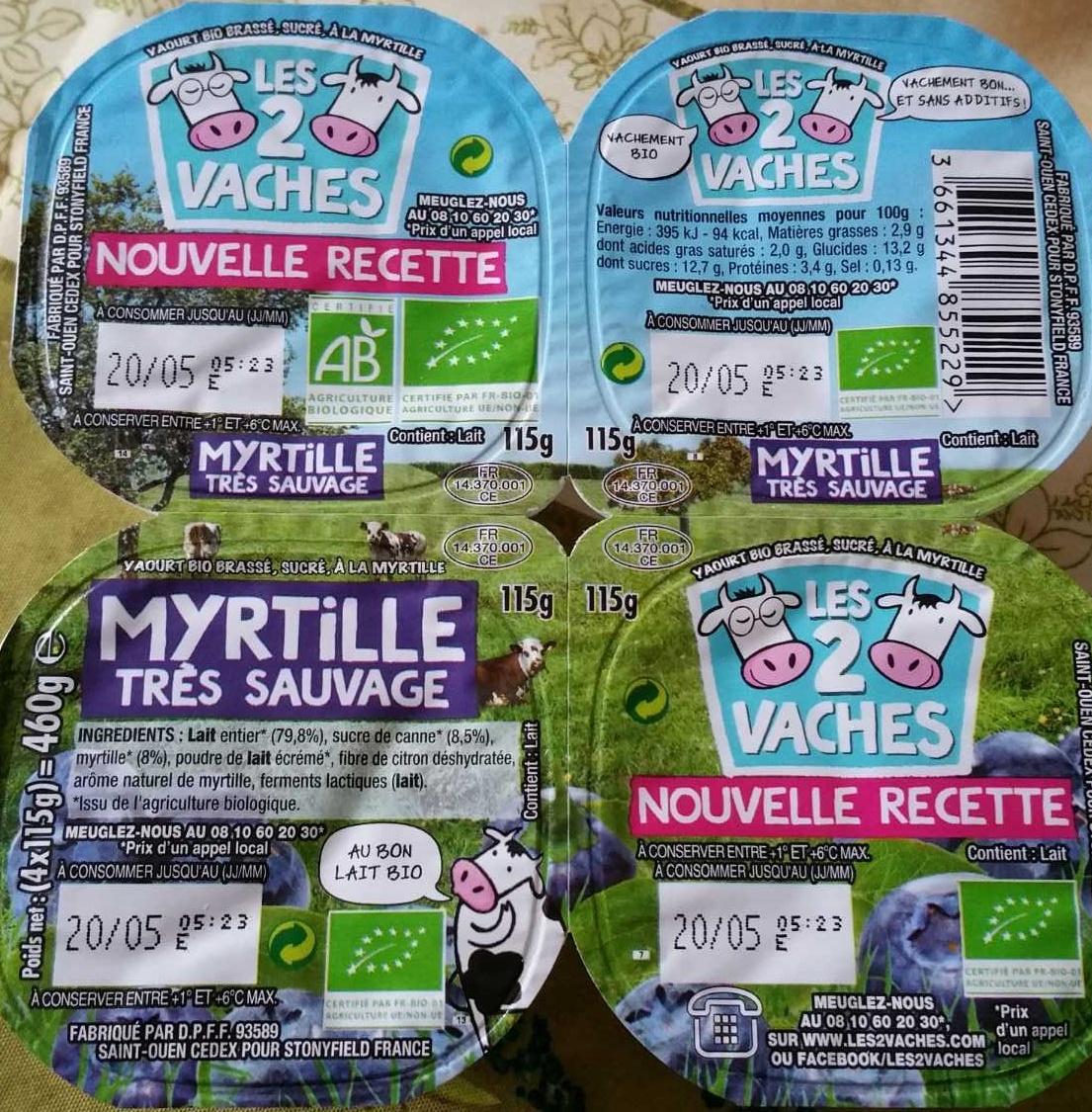 Myrtille Très Sauvage - Product - fr