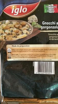 Gnocchi al gorgonzola - Product - fr