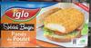 Spécial Burger Panés de poulet aux éclats croustillants de riz soufflé - Product
