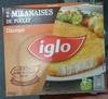 2 Milanaises de Poulet Classique - Produit