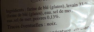 Poilâne - Ingredients - fr