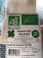 Pavés de saumon bio Irlande - Voedingswaarden