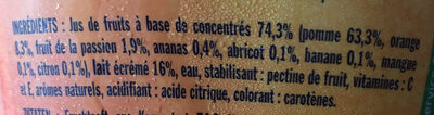 Danao pomme fruits exotiques - Ingrediënten - fr