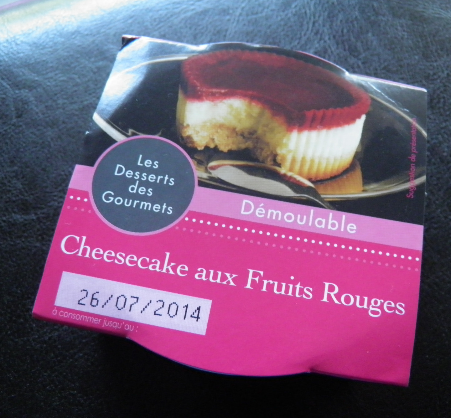 "Cheesecake aux fruits rouges ""Les Desserts des Gourmets"" - Product - fr"