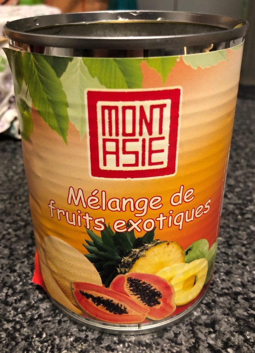 Melange de fruits exotiques - Product - fr