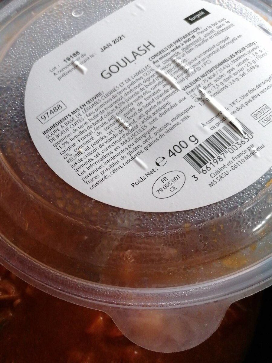 Goulash - Product - fr