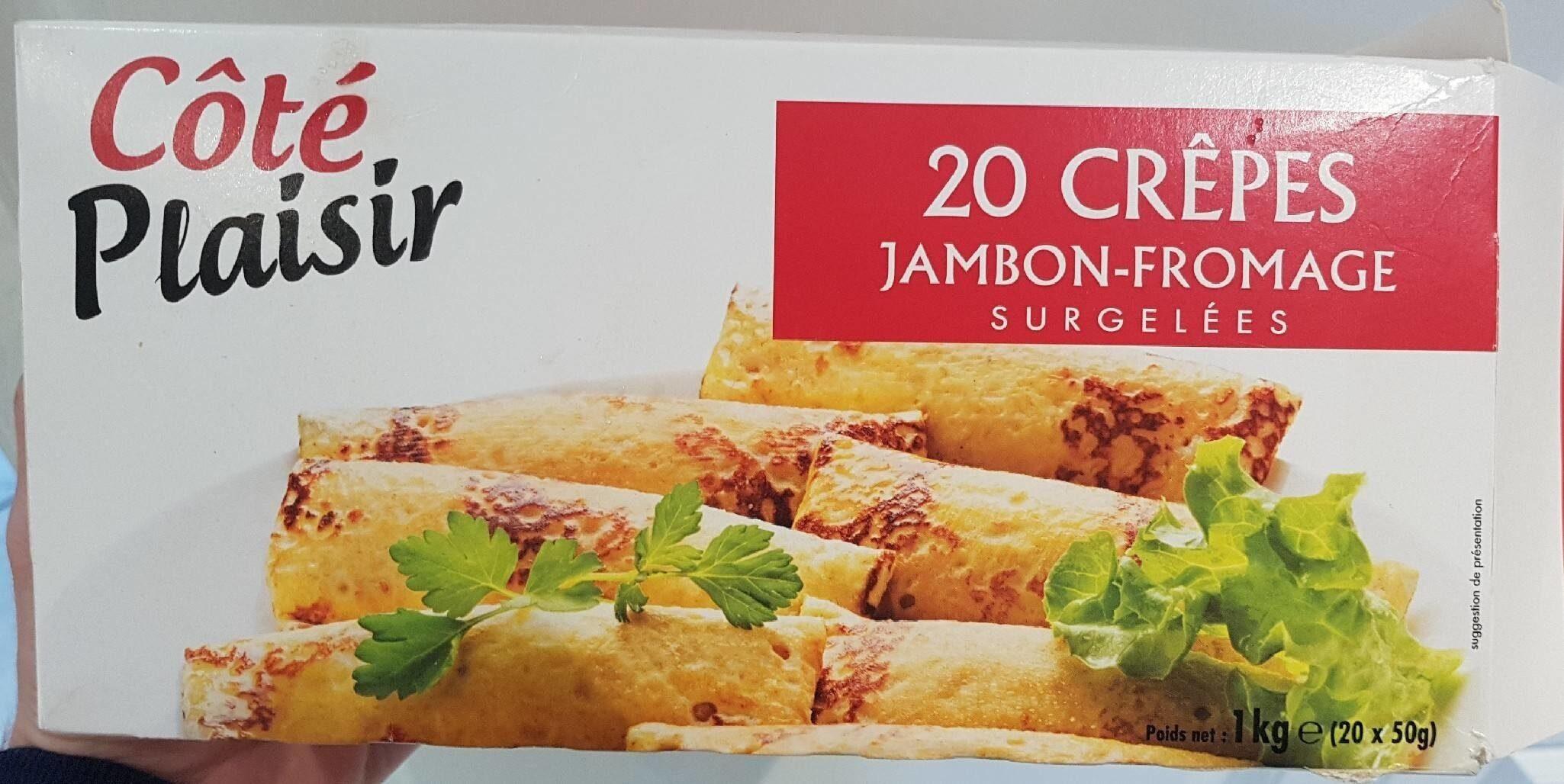 Crêpes jambon-fromage surgelées - Produit - fr