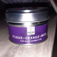 Thé noir figue orange miel - Product - fr