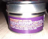 Thé noir figue orange miel - Voedingswaarden - fr