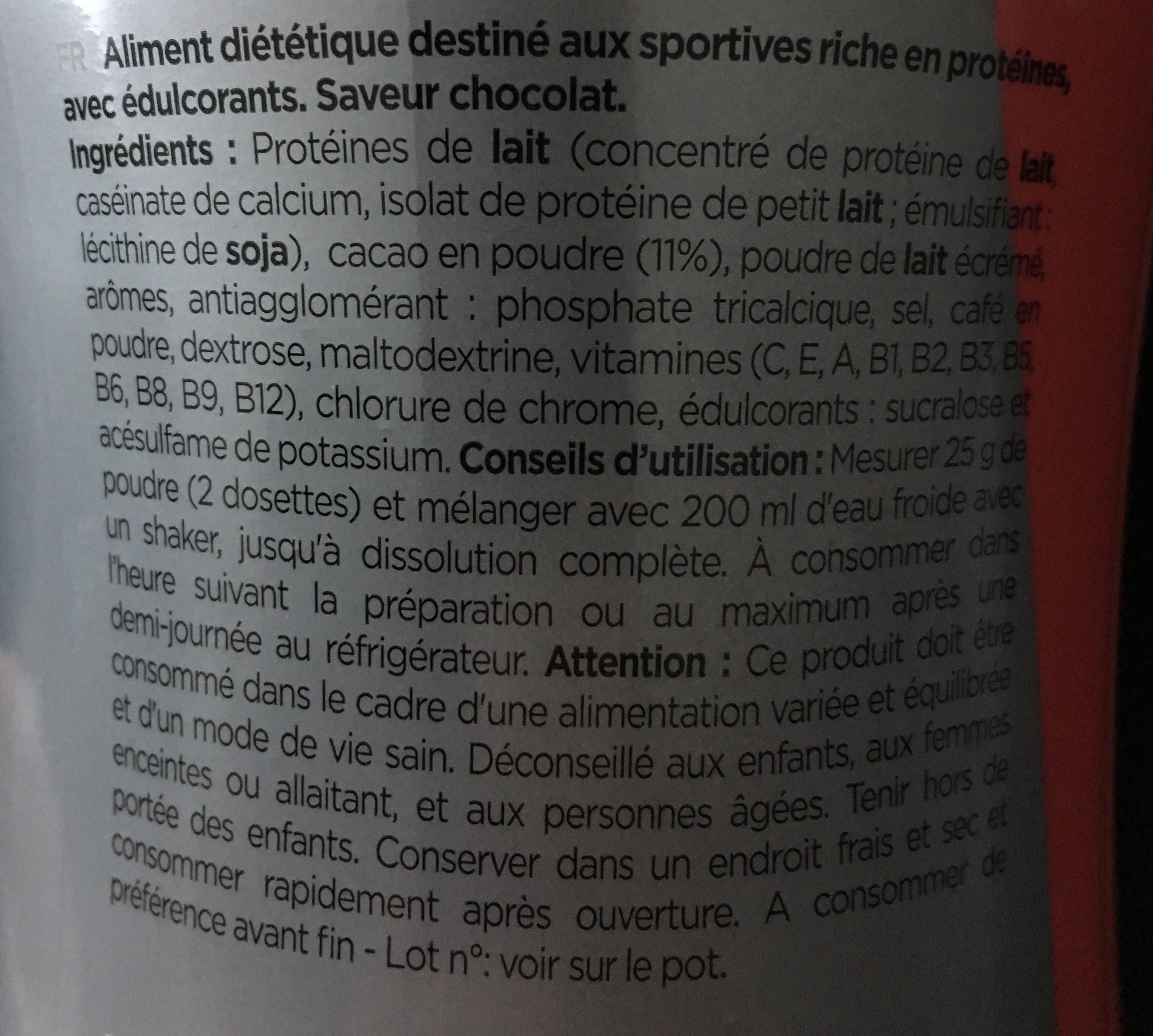 Delicious protein - Ingrediënten