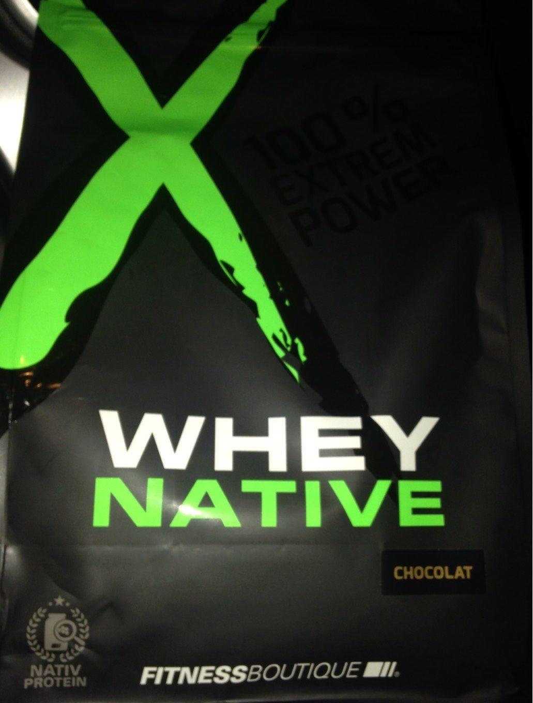 WHEY NATIVE CHOCOLAT - Product