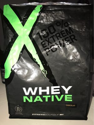 Whey protéines Xnative - Produit - fr