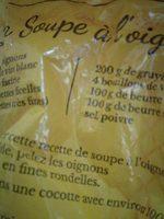Oignons jaune - Ingrédients