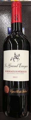 Le Grand Ecuyer Bordeaux Supérieur 2012 - Produit - fr