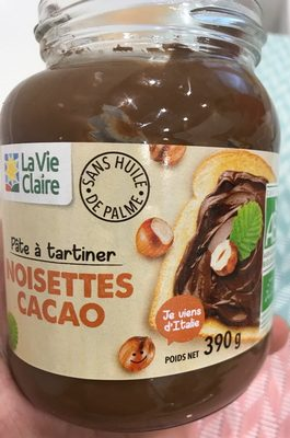 Pâte à tartiner noisettes cacao - Prodotto - fr