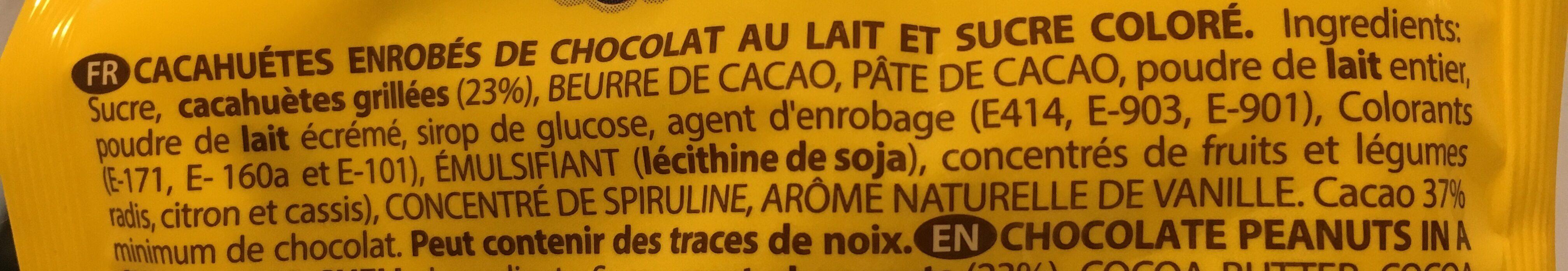 Botnim's - Ingrédients - fr