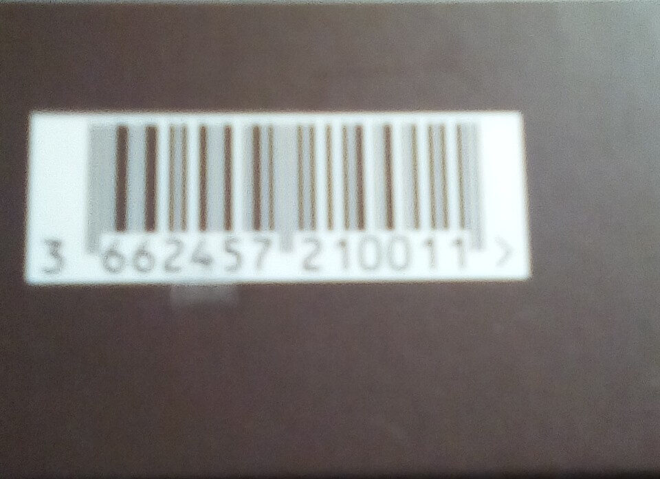 Chocolat - Nutrition facts