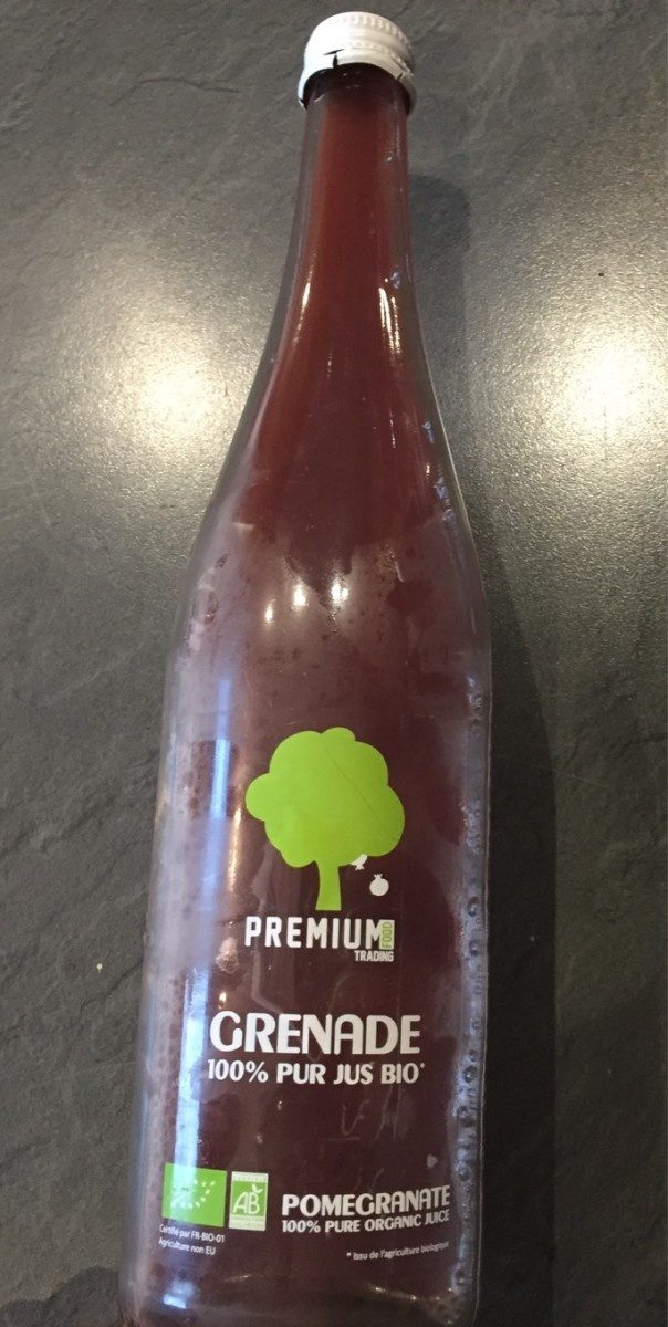 Grenade 100% pur jus bio - Product - fr