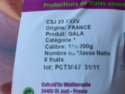 Pommes - Ingredients - fr