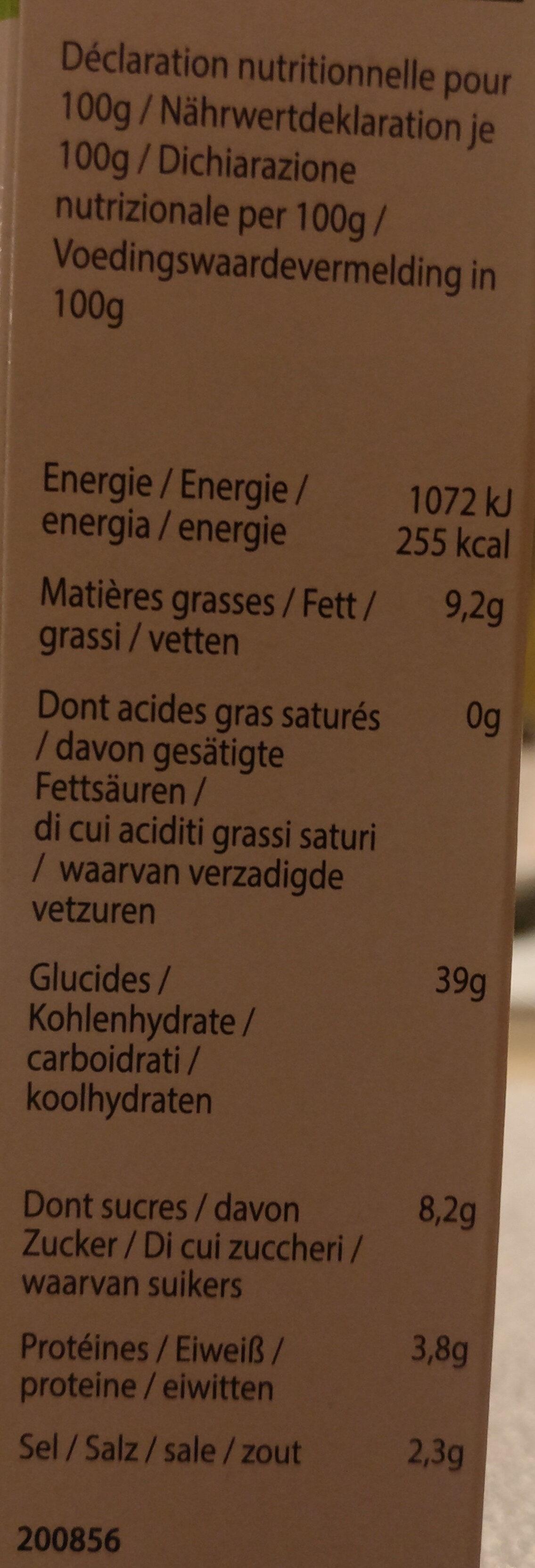 Pate de wasabi - Nutrition facts - fr