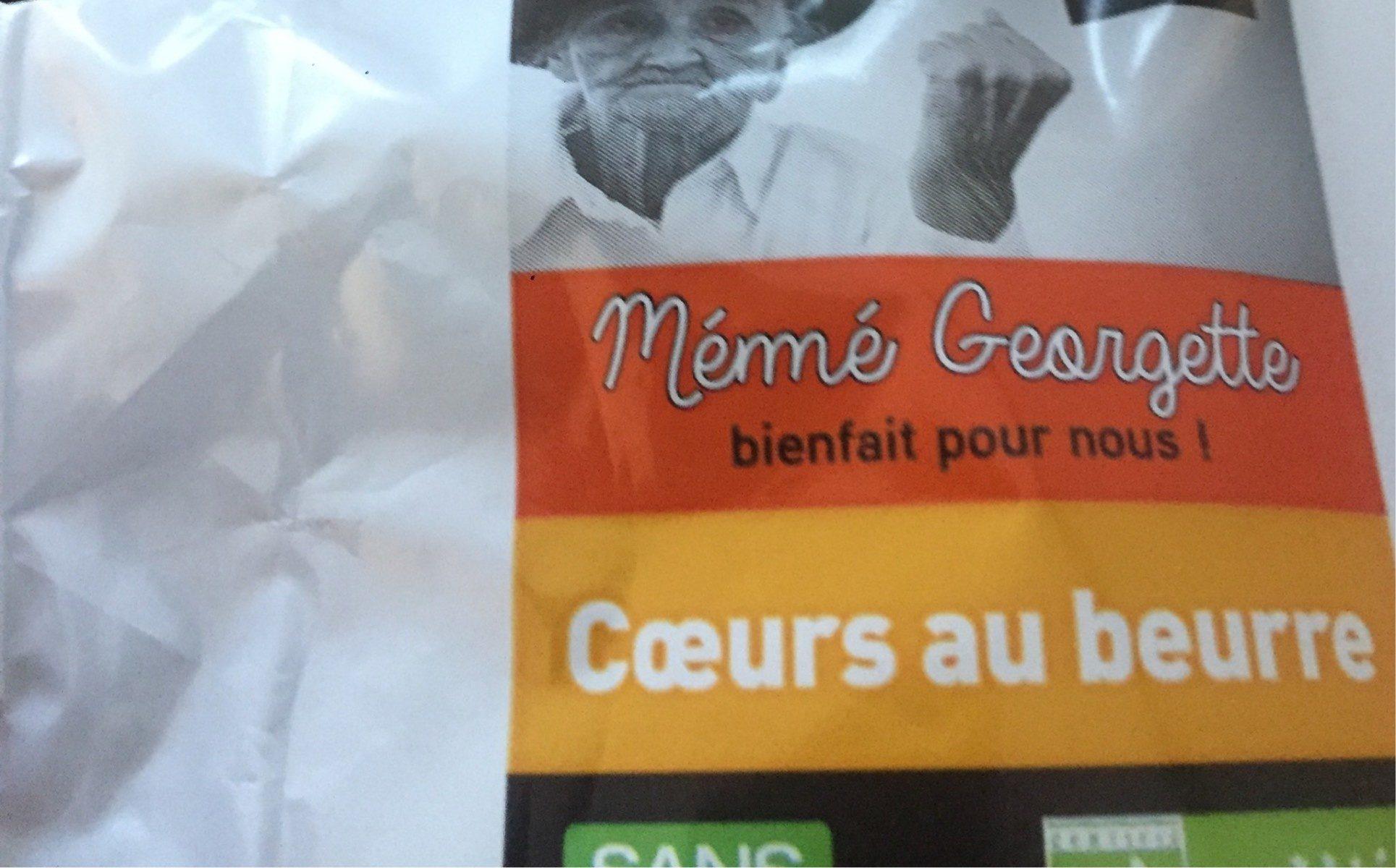 Coeurs au beurre - Product - fr