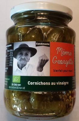 Cornichons au vinaigre BIO - Produit