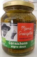 Cornichons aigre-doux - Prodotto - fr