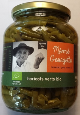Haricots verts bio - Product - fr